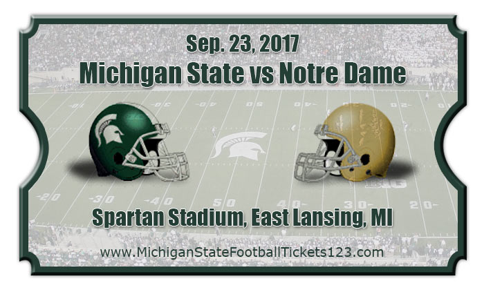2017 Michigan State Vs Notre Dame