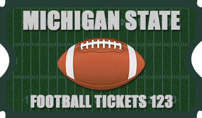 Michigan State Football Tickets 123 Logo